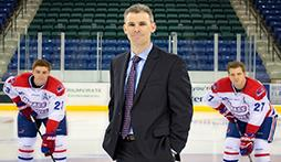 Norm Bazin '94 '99, Men's Ice Hockey Coach