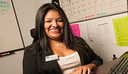 Janelle Diaz '12, Psychology, Founder of Disable the Label