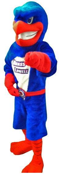 Image result for Rowdy the River Hawk